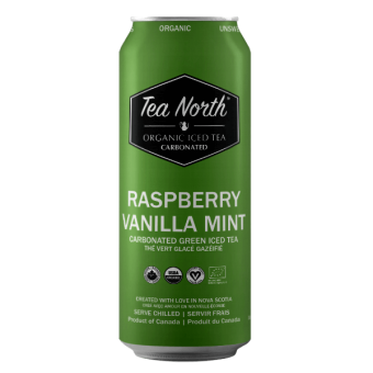 Raspberry Vanilla Mint Green Iced Tea