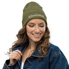 Organic Toque - Olive Green - @dtn - Girl