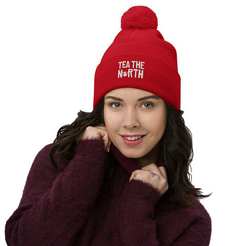 Toque – PomPom – Red – Tea The North – Girl